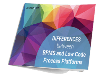 Differences between BPMS and Low Code Process Platforms