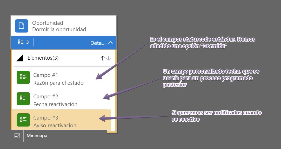 Configurar primera página flujo tareas.
